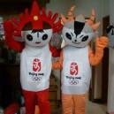 Supply Cartoon Costumes Walking Cartoon Dolls Cartoon Doll Dress Performance Props Mango Mascot Mascot Costume