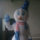 Supply Cartoon Costumes Walking Cartoon Dolls Cartoon Doll Dress Performance Props Snowman Mascot Costume