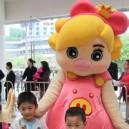 Cartoon Doll Clothing Cartoon Walking Doll Cartoon Costumes Performing Props Princess Fifi Mascot Costume