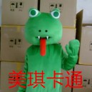 Supply Cartoon Mascot Costume Cartoon Figures Clothing Cartoon Dolls Costumes Green Snake