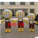 Supply Cartoon Mascot Costume Cartoon Figures Clothing Cartoon Dolls Dolls Standing Mascot Costumes