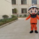 Supply Animation Cartoon Walking Doll Cartoon Clothing Apparel Manufacturers Firefighter Costumes Stage Performance Mascot Costume