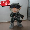 Supply Chinese Special Forces Soldiers Stormtrooper Costume Cos Performing Arts Camouflage Cartoon Dolls Cartoon Clothing Mascot Costume