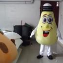 Supply Bulb Cartoon Mascot Dolls Enterprise Product Publicity Bulb Male Cartoon Clothing Mascot Costume