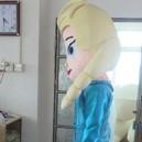 Cartoon Professional Cosplay Accessories Cartoon Costumes Elsa Princess Doll Clothing Mascot Costume