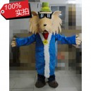 Supply Cartoon Wolf Cartoon Doll Clothing Pleasant Goat and Big Big Wolf Cartoon Figures Wearing Sunglasses Hat Langtou Mascot Costume