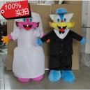 Supply Civet Cats Wear A Wedding Dress Wedding Photography Props Standing Cartoon Doll Doll Clothing Blue Cat Cartoon Costumes Mascot Costume