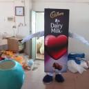 Supply Design Customized Corporate Mascot Cartoon Dolls Cartoon Clothing Thick Milk Chocolate Products Mascot Costume