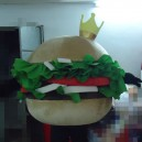 Supply Double Bread Food Hamburger Cartoon Doll Doll Clothing Kfc Mcdonald Cartoon Costumes Mascot Costume