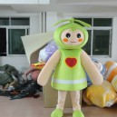 Supply Environmental Protection Plant Sprouts Angel Buds Love Mascot Costume Cartoon Doll Clothes Children Skirts