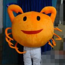 Supply Marine Animals Cartoon Costumes Cartoon Doll Clothing Hairy Crab Cartoon Dolls Animal Props Mascot Costume