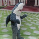 Supply Ocean Anime Cartoon Dolls Cartoon Clothing Canine Teeth Shark Model Dolls Walking Clothing Mascot Costume
