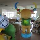 Professional Custom Mascot Cartoon Dolls Walking Cartoon Show Props Air Doll Clothes Mascot Costume