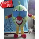 Supply Stage Performances Props Cartoon Dolls Walking Cartoon Doll Clothing Watermelon Fruit Cartoon Show Clothing Mascot Costume