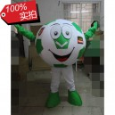 Supply Super League Football Match Baby Cartoon Dolls Activities Props Rest Greenery Battlefield Football Cartoon Clothing Mascot Costume