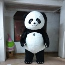 Supply To Design 3-METER Panda Mascot Cartoon Dolls Dressed Performers Cartoon Clothing Material Mascot Costume