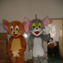 Supply Tom and Jerry) Film and Television Animation Cartoon Cartoon Dolls Clothing Performance Clothing Soup Lucky Cat and Mouse Mascot Costume