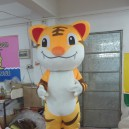Supply Two Tigers Animal Props For Children To Play King of The Forest Tiger Stage Costumes Cartoon Doll Clothing Mascot Costume