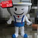 Supply Zhejiang Led Light Bulb Cartoon Dolls Cartoon Clothing Corporate Mascot Plush Doll Mascot Costume