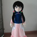 Cartoon Doll Animation Film Characters Dressed Little Girl Cos Graduation Photography Cartoon Clothing Mascot Costume