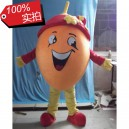 Supply Cartoon Doll Clothing Cartoon Fruit Orange Clothing Dark Eye Open Four Fingers Gloves Ccs Card Mascot Costume