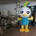 Cartoon Mascot Design Cartoon Dolls Dress Up The Long Tail of The Phoenix Cos Cartoon Costumes Mascot Costume
