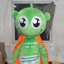 Supply Emerald Green Eyes Cloak Mouth Cartoon Dolls Cartoon Clothing Design Personalized Logo Mascot Costume