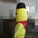 Henan Cartoon Dolls Golden Corn Harvest Season Green Cartoon Clothing Cartoon Doll Clothing Mascot Costume