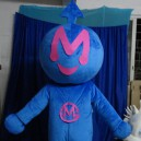 Hyun Dance Game Special Character Animation Cartoon Clothing Boys and Girls Model M Television Cartoon Doll Clothing Mascot Costume
