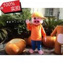 Pig Cartoon Clothing Cartoon Pig Cartoon Dolls Dress Hat Joy Pig Mcdull Pig Doll Mascot Costume