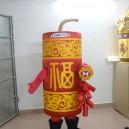 Singapore Custom Clothing Cartoon Horse Firecrackers Percussion Married Celebration Firecrackers New Cartoon Dolls Mascot Costume
