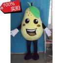 Supply Sydney Pear Fruit Cartoon Doll Doll Clothing Vegetables and Fruits Show Film Props Cartoon Clothing Mascot Costume