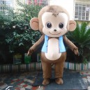 Supply 2015 Newest Fat Monkey Monkey Mascot Cartoon Dolls Cartoon Monkey Carnival Costume Dress Clothes Mascot Costume