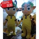 Supply Avatar Film Props Kids Cartoon Dolls Green Ambassadors Green Baby Cartoon Clothing Mascot Costume