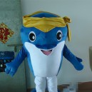 Supply Blue Ocean Cartoon Walking Doll Cartoon Doll Clothing Children Seaworld Show Mascot Mascot Costume