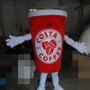 Supply Coffee Beverage Cup Cup Summer New Cartoon Dolls Cartoon Clothing Cold Fruit Juice Coke Cup Mascot Costume