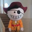 Supply Cos Pirate Anime Cartoon Dolls Dressed in Kindergarten Performances Bulk Jiangyangdadao Cartoon Clothing Mascot Costume