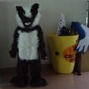 Supply Custom Mascot Cartoon Dolls Clothing Walking Cartoon Dolls Wolf Eva Super Soft Fleece Clothing Mascot Costume