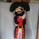 Supply Pirate Captain Television Cartoon Doll Cartoon Props Cartoon Clothing Europe and America Pirates of The Caribbean Mascot Costume