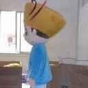 Wen Ming Civilization Cartoon Character Hats Cartoon Clothing Cartoon Dolls Cong Cong Obviously Television Activities Mascot Costume