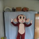 Youxihou Mouth Monkey Cartoon Dolls For Children in Kindergarten Stage Clothes Cartoon Clothing Performance Clothing Television Mascot Costume