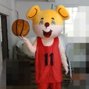 Supply Bear Cartoon Dolls Graduation Season College Entrance Containing Props Basketball Literary Scholar Bear Bear Cartoon Clothing Mascot Costume
