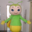 Supply Bee Cartoon Walking Doll Clothing Apparel Clothes Doll Props Mascot Costume