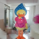 Supply Big Yellow Duck Ducklings Bag Neighbors Struggle Paragraph Shy Little Yellow Duck Female Models Scarves Cartoon Doll Clothing Mascot Costume