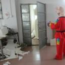 Cartoon Doll Glove Fingers Judo Martial Art Performances Stage Dress Faceless Pig Cartoon Clothing Mascot Costume
