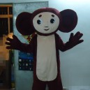 Supply Cartoon Model Pull Big Ears Monkey Ah La Crocodile Gena Cheburashka Mascot Costume Suit
