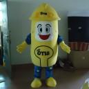 Elevator Safety Ambassador Elevator Maintenance Workers Mascot Cartoon Clothing Cartoon Doll Show Mascot Costume