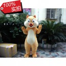 Supply Madagascar Doll Cartoon Squirrel Chipmunk Cartoon Dolls Cartoon Clothing Cotton Filling Pregnant Mascot Costume