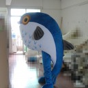 Professional Cartoon Doll Clothing Marine Fish Clown Mascot Blue Cartoon Clothing Mascot Costume
