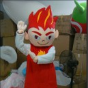 Cartoon Characters Baby Clothing Cartoon Costumes Flame Celebration Clothes Mascot Costume
